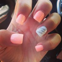 Summer nails :)) gettin ready for AZ summer | My Style ...
