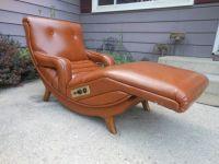 Vintage Danish Modern Contour Lounge Recliner Chair Mid ...