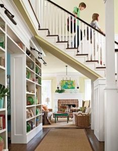 Stairs you can walk under love the idea of no wasted floor and open space dream house ideas pinterest spaces future also rh