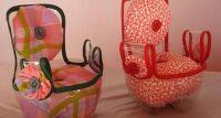 Recycled 2-litre pop bottle into a chair for 18-inch dolls ...