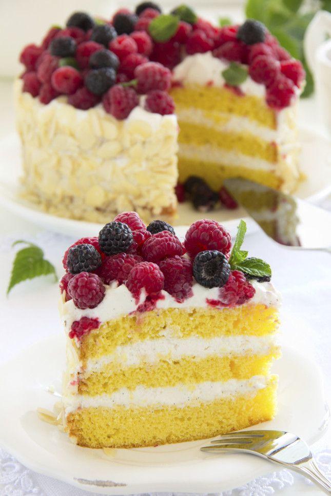 Ricette Una torta di compleanno scenografica ma facile da