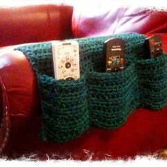 Remote Holder For Chair Polywood Classic Adirondack I Used Some Left Over Yarn To Create This Arm Caddy