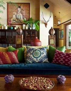 top bohemian style decor tips with adorable interior ideas also rh pinterest