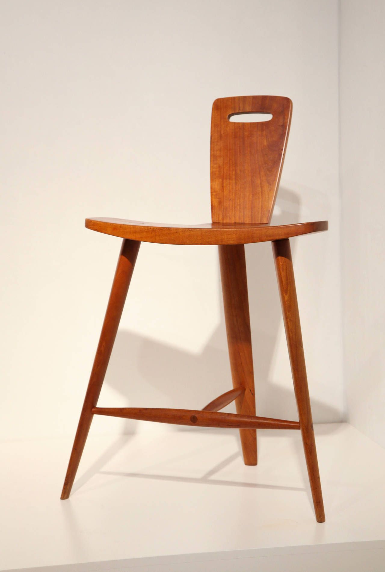 3 legged chair toddler upholstered with ottoman extremely rare three stool by tage frid stools
