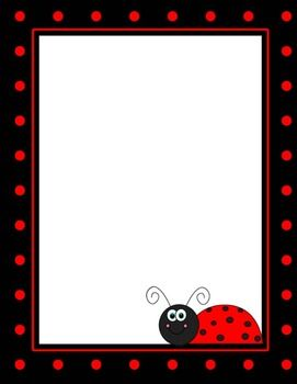 ladybug backgrounds borders