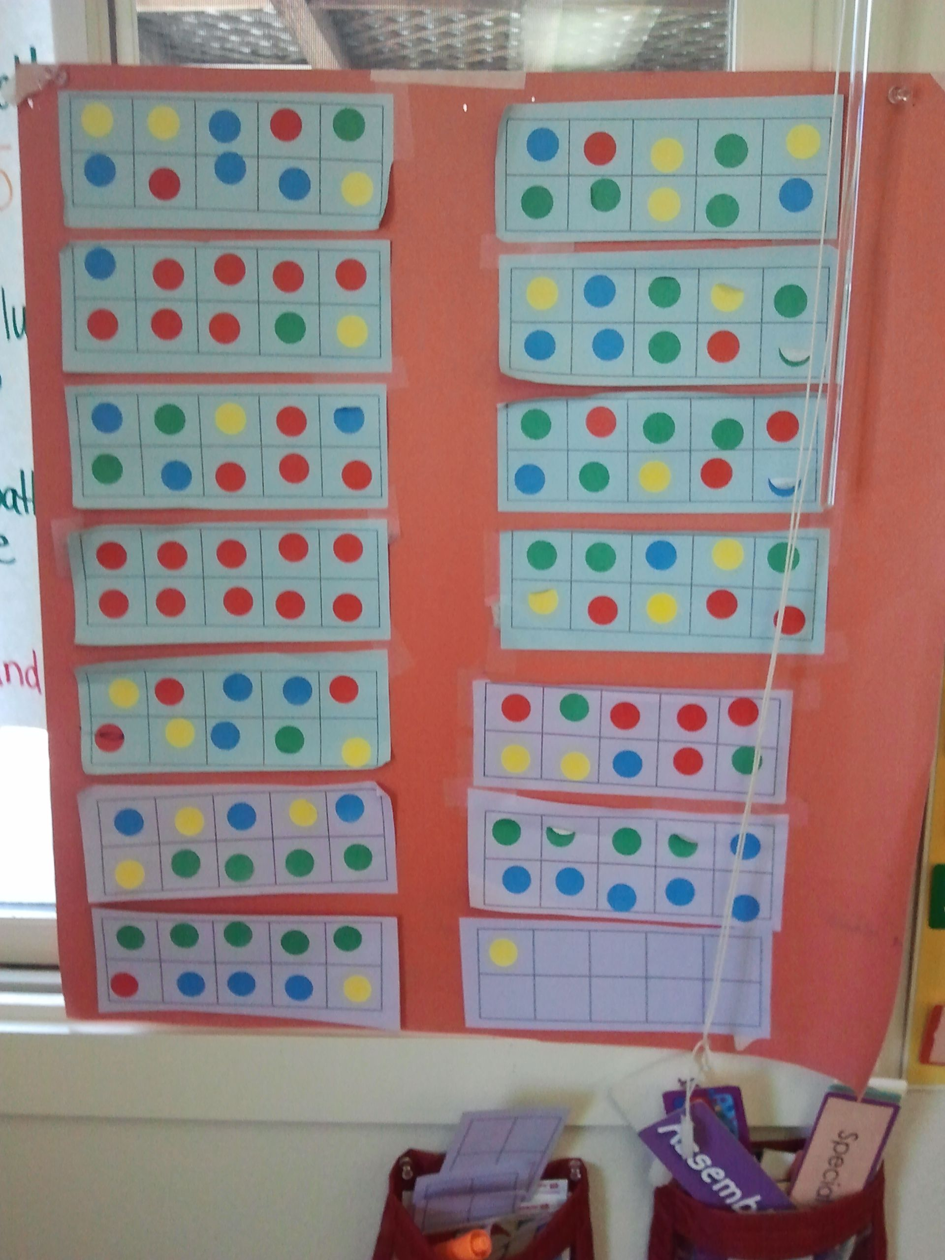 Kindergarten Counting The Days On A Ten Frame