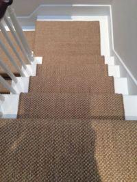 sisal carpet stairs 08   Basement floors   Pinterest ...