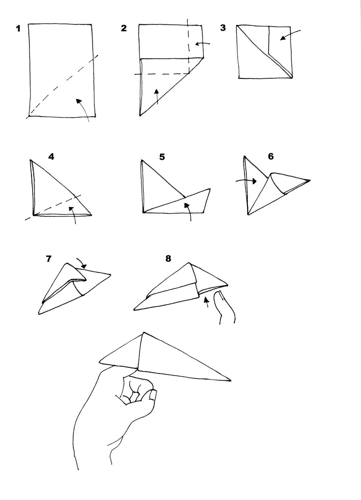 Step Step Making Origami
