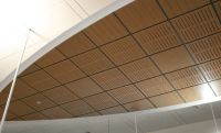 Alluring Ideas Wood Ceiling Panels - http://www.kirwinebar ...