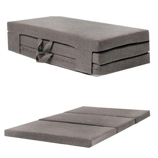 Details About Fold Out Guest Mattress Foam Bed Single Double Sizes Futon Z Folding Sofa