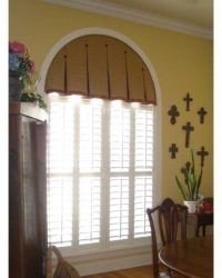taylored drapery for arched windows - Google Search ...