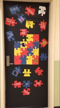 Black History Month Door Decoration for our Autism ...