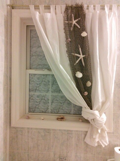 Beach Themed Curtain Idea For Bathroom Beach Bathrooms
