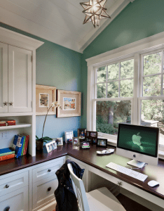 beautiful home offices also bald hairstyles bright and office spaces rh pinterest