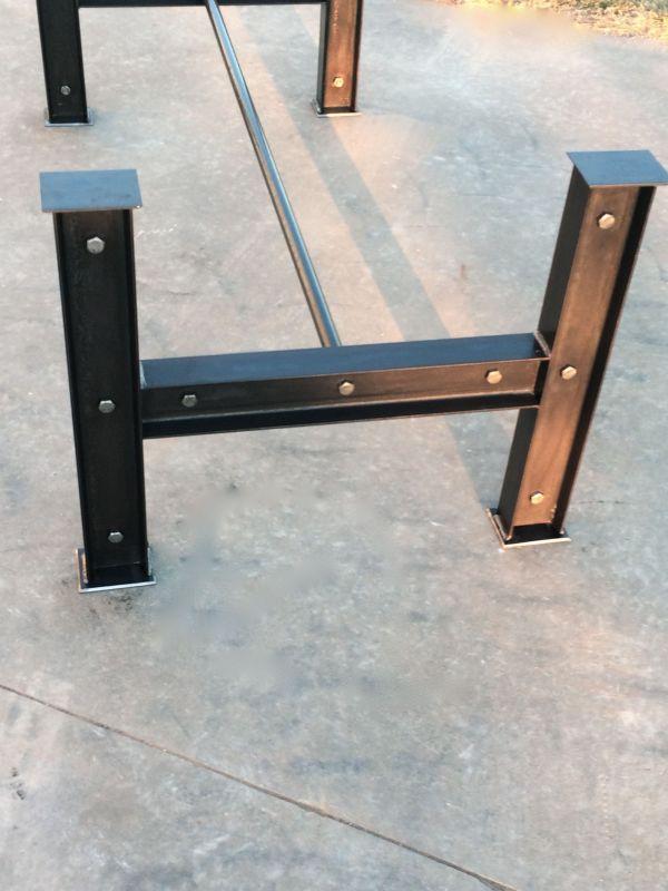 Industrial Metal Dining Table Legs
