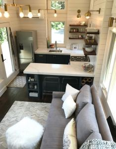 Awesome small and tiny kitchen design ideas image is part of inspiring for house gallery you can read see another also  likes comments tinyhousemovement rh pinterest