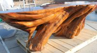 Vintage 500lb Solid Wood Japanese Hinoki Cypress Tree ...