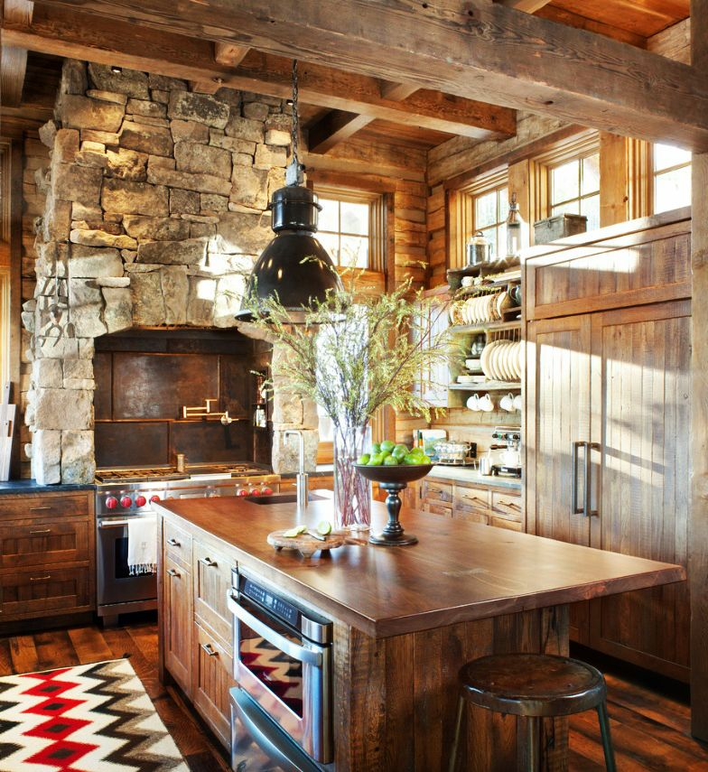 Kitchen Designs Photo Gallery Rustic Comfort And Class Rustic