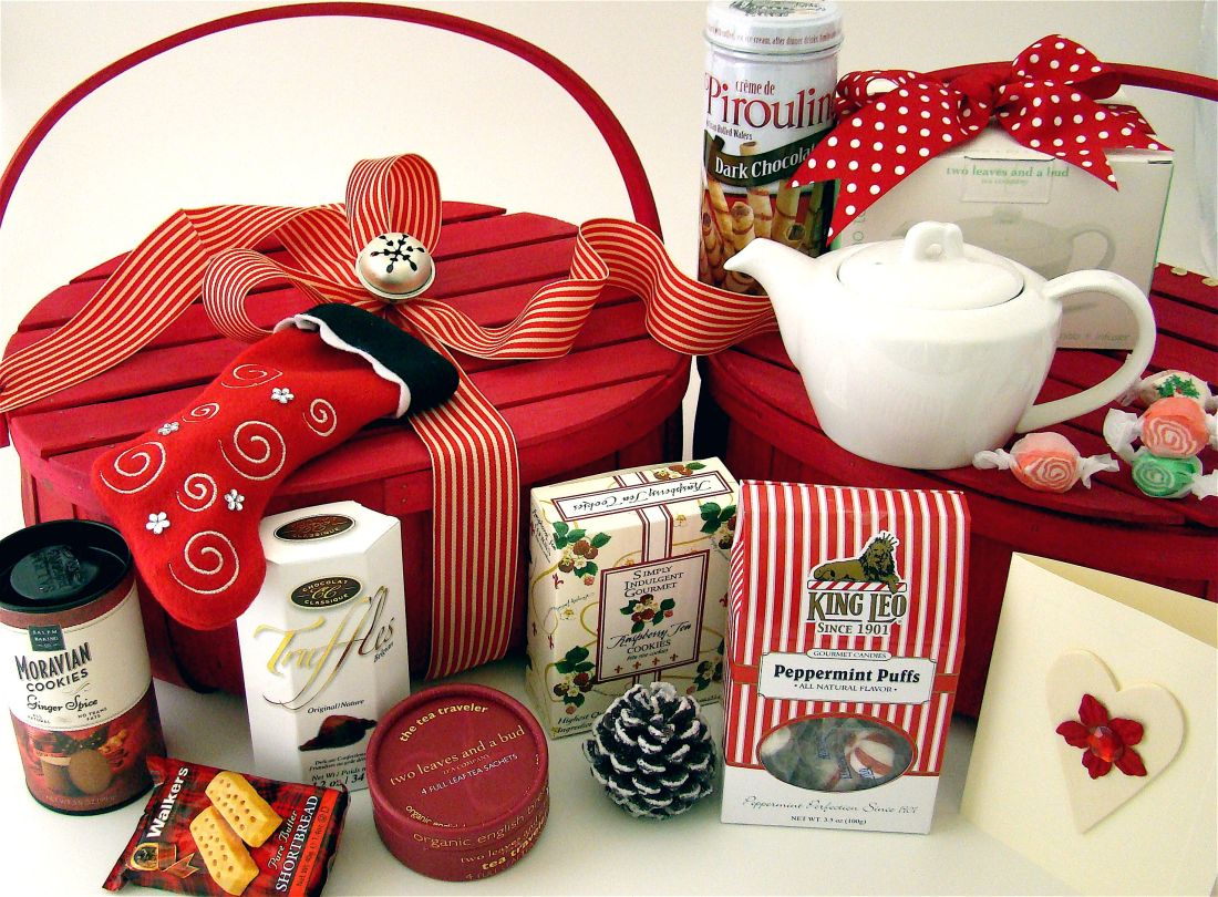 Great christmas gift basket idea you dont have to use