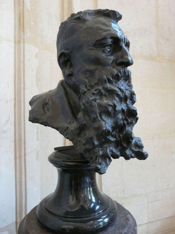 Desbois Jules 1851-1935 - Buste De Rodin