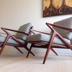 Modern Wood Chair Plans Walmart Swivel Pair Of Danish Mid Century Teak Lounge Chairs Poul