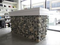 Unique Reception Desk Design Made From Stone How to Build ...