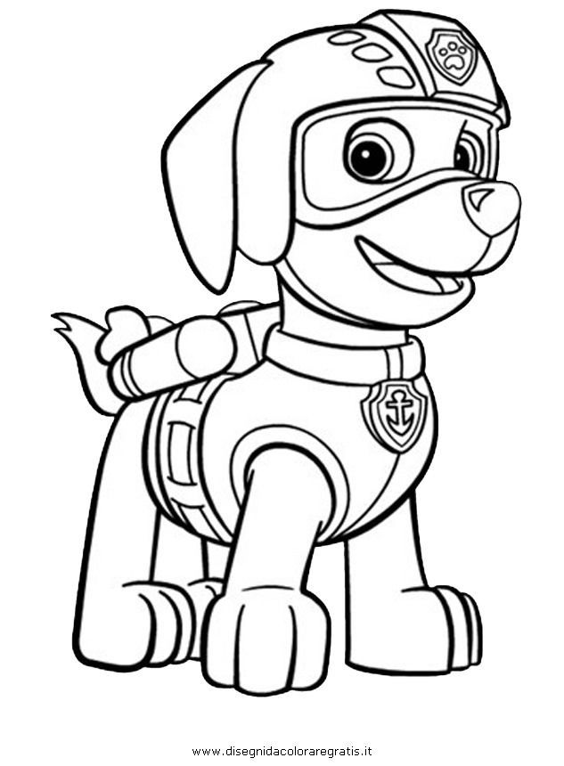 Coloring Pages Of Paw Patrol Spy Chase Colouring