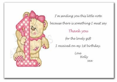 Birthday Thank You Words On Pinterest Thank You Cards