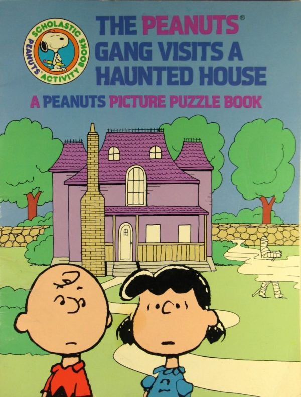 Haunted House Charlie Brown Peanuts Books