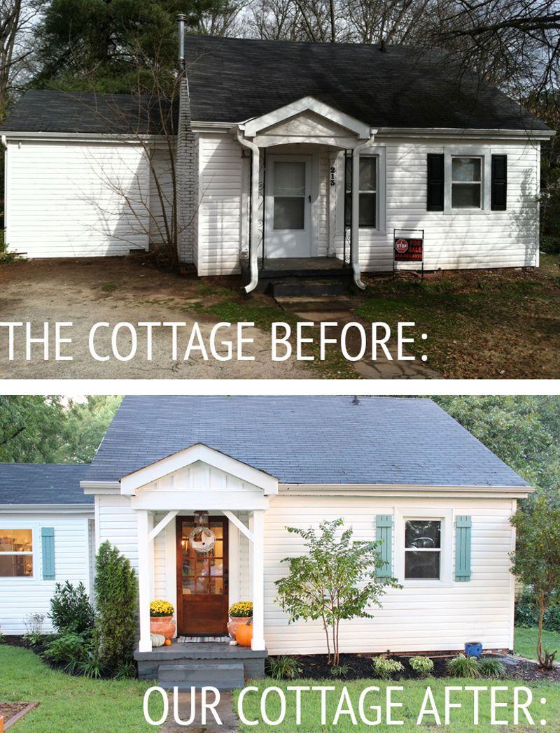 Bi level home exterior makeover for Exterior makeover ideas