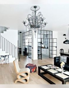 Decoracion elegancia industrial living room fj interior design also rh pinterest