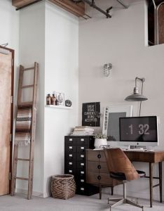 Guest blogger designing the ideal ergonomic home office rustic decorating ideas interiors and room also rh pinterest
