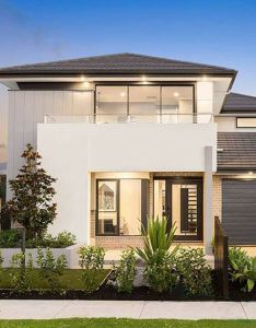 This unique home by leneeva homes brings  contemporary twist to the mixed materials look also rh pinterest