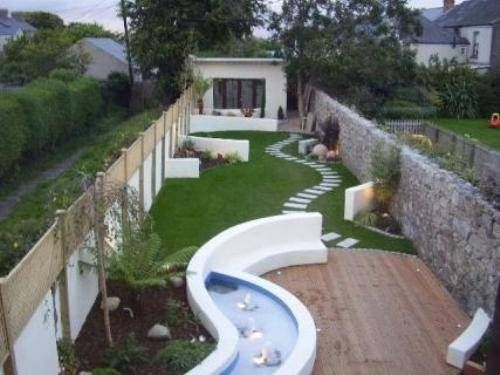If Your Garden Area Is Long And Narrow Separate The Space Into