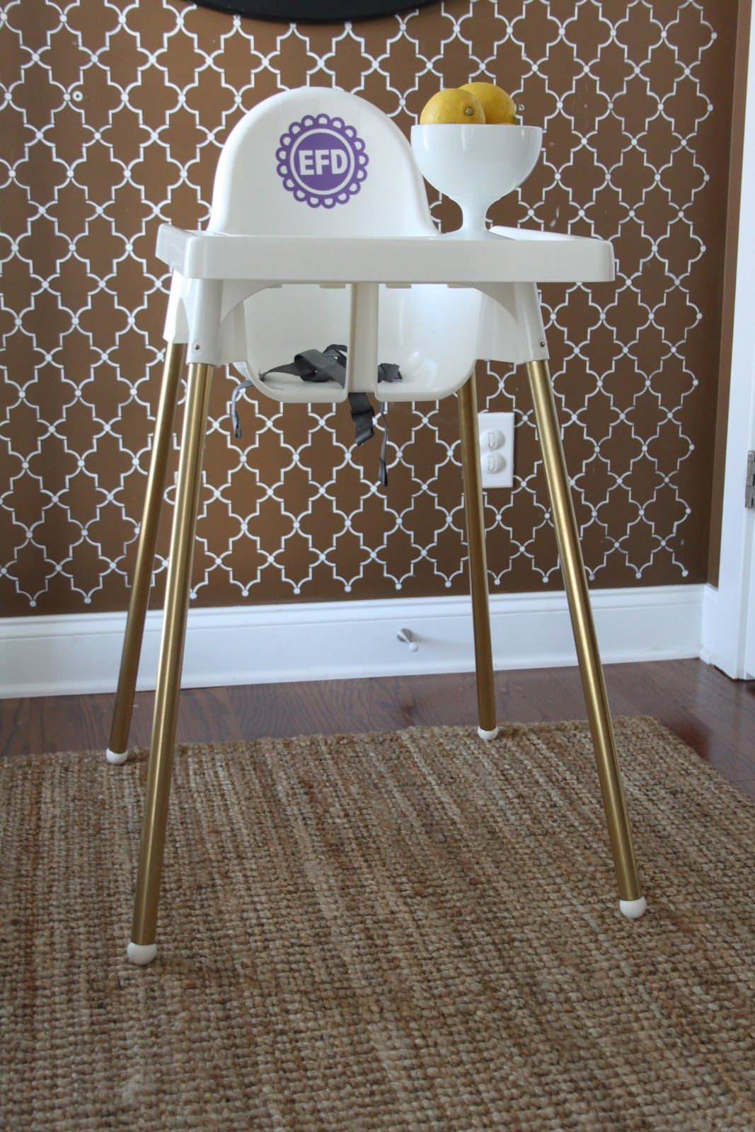 ikea high chairs small leather club hack antilop highchair very budget friendly and