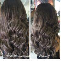 Silvery grey ash hair color   Hair   Pinterest   Hair ...