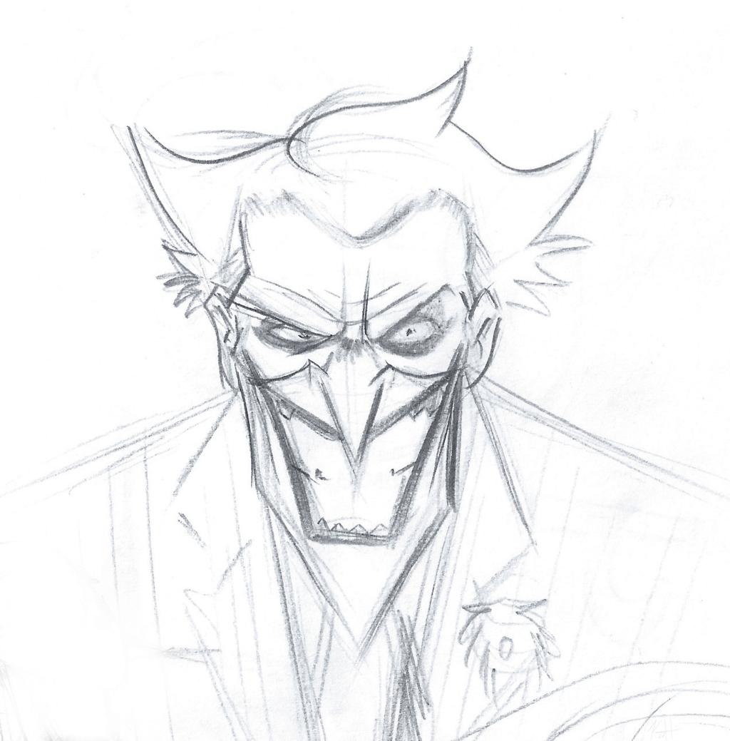 Joker Line Drawing Bat Man Drawings New Marvelous Joker Drawings