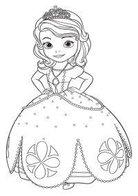 La Princesa Sofia dibujos para colorear | dibujo de sofia ...