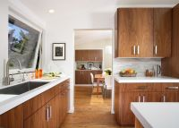 Mid Century Modern Cabinet Kitchen Contemporary with Air