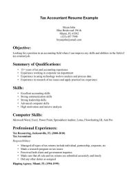 Tax Accountant Resume Sample - Tax Accountant Resume ...