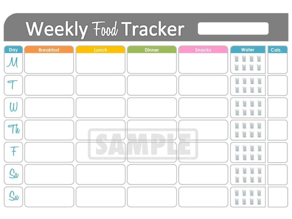 Weekly Food Tracker
