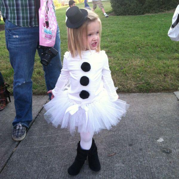 Snowman Costume Ideas Kids