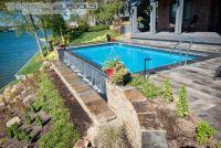 Infinity Pool Design - Thursday Pools - Fiberglass Pool ...