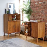 Mid-Century Bar Cabinet - West Elm :: Small is $800, Large ...