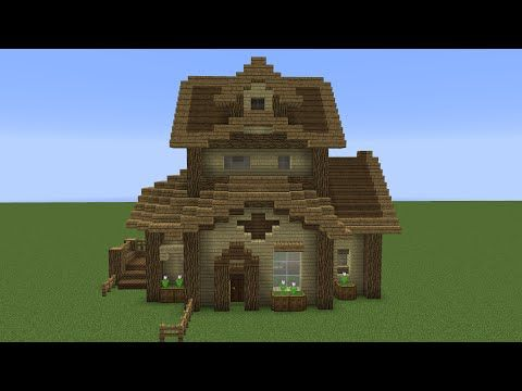 Quick Wooden Minecraft House! YouTube Minecrastinate