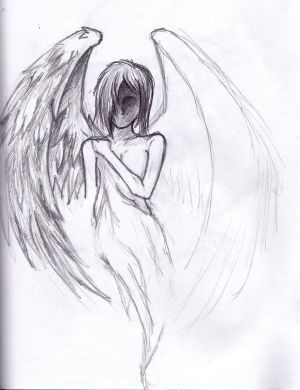 sad simple sketch drawings angel easy draw unfinished amazing deviantart sketches drawn pencil google things drawing explore cool depressed doodle