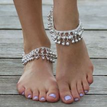 Silver Anklet Indian Wedding