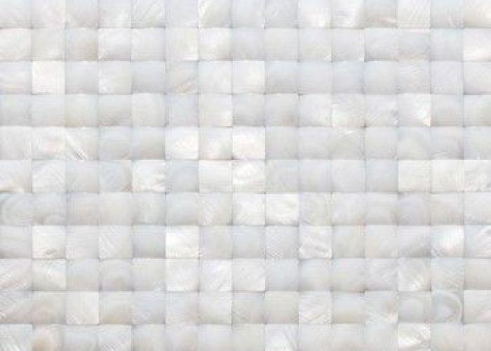 Nacre white  pearl tile contemporary bathroom glass store also