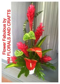 Red Ginger Flower Arrangements   www.pixshark.com - Images ...
