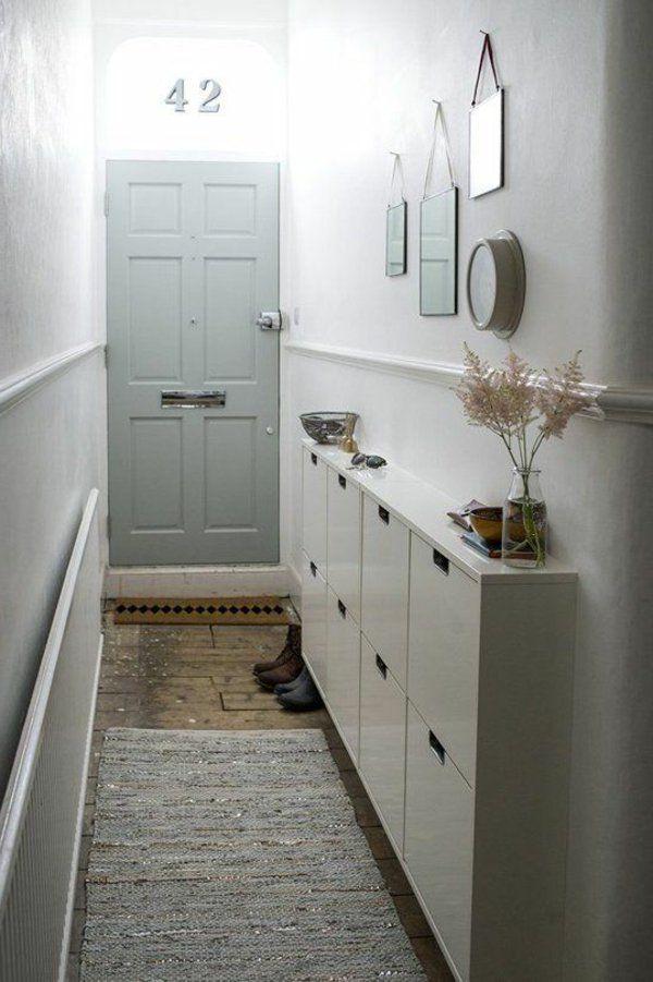 flur gestalten kleine wohnung einrichten tipps  Wohnen  Pinterest  Wohnung einrichten tipps